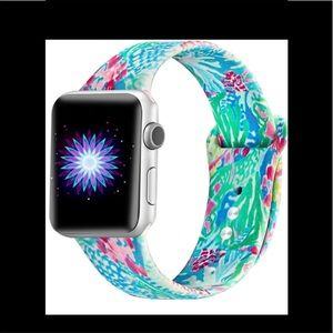 Apple Watch band mermaid print Lilly Pulitzer New
